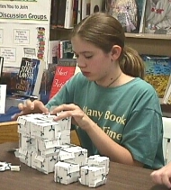 working on a level 1 Menger Sponge